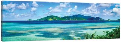Islands In The Sea, Leinster Bay, U.S. Virgin Islands Canvas Art Print
