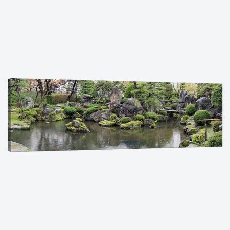 Koi Fish In A Pond At Hirosaki Park, Hirosaki, Aomori Prefecture, Japan Canvas Print #PIM14713} by Panoramic Images Art Print