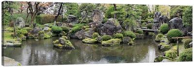 Koi Fish In A Pond At Hirosaki Park, Hirosaki, Aomori Prefecture, Japan Canvas Art Print