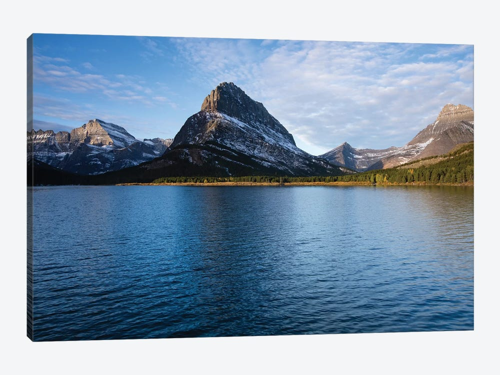 Lake With Mountain Range In The Background, Glacier National Park, Montana, USA by Panoramic Images 1-piece Art Print