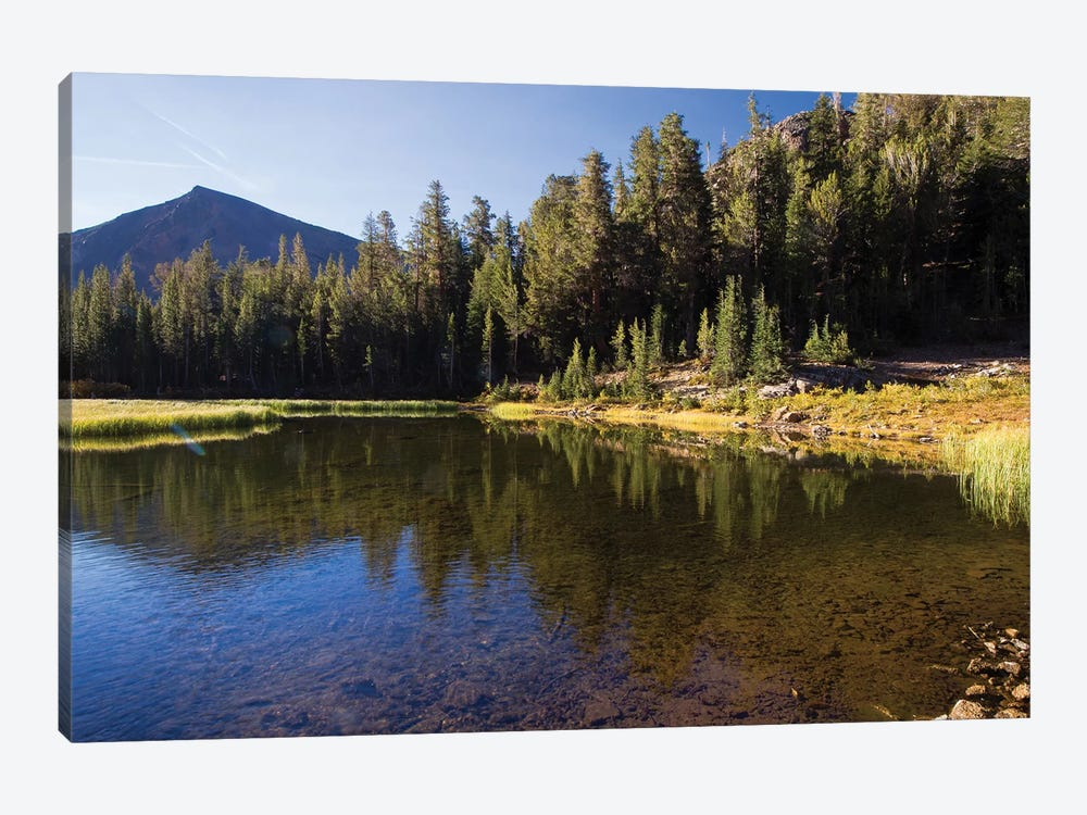 Lake With Mountain Range In The Background, Virginia Lakes, Bishop Creek Canyon, California, USA by Panoramic Images 1-piece Art Print