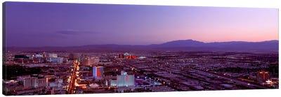 USANevada, Las Vegas, sunset Canvas Print #PIM1471