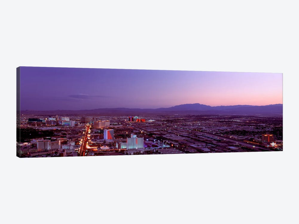 USANevada, Las Vegas, sunset by Panoramic Images 1-piece Canvas Print