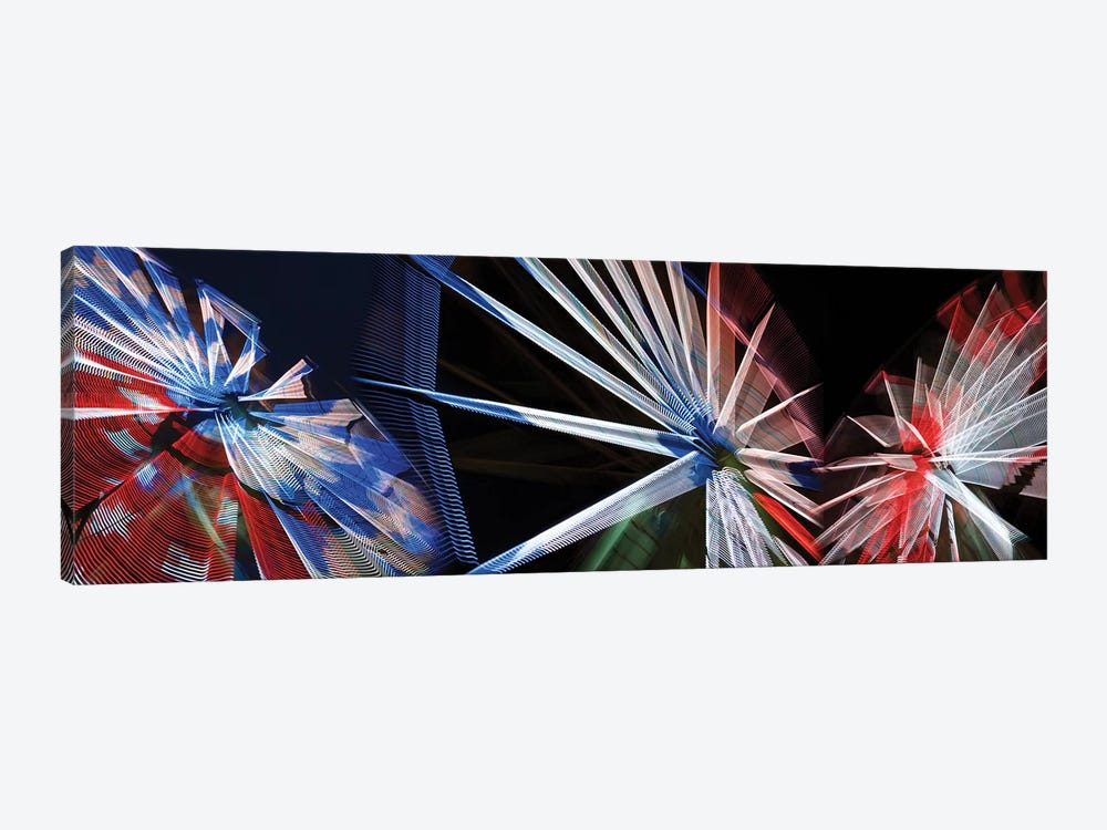 Low Angle View Of Wheels by Panoramic Images 1-piece Canvas Print