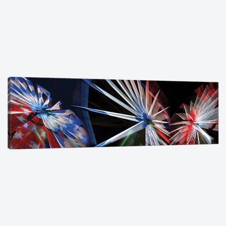 Low Angle View Of Wheels Canvas Print #PIM14735} by Panoramic Images Canvas Art