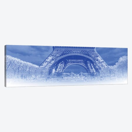 Low Section View Of Eiffel Tower, Paris, France Canvas Print #PIM14736} by Panoramic Images Canvas Art