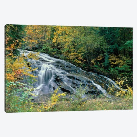 Marshfield Falls, Winooski River, Marshfield, Washington County, Vermont, USA I Canvas Print #PIM14742} by Panoramic Images Canvas Wall Art