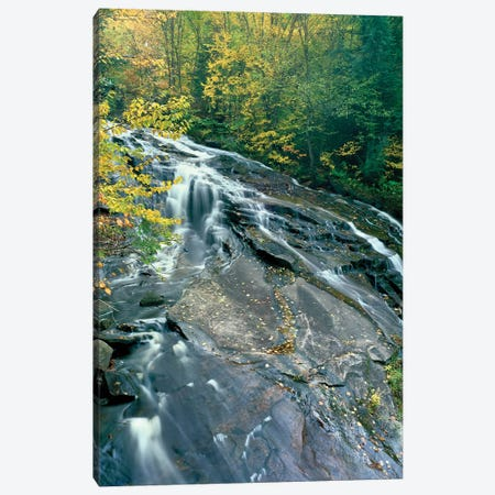 Marshfield Falls, Winooski River, Marshfield, Washington County, Vermont, USA II Canvas Print #PIM14743} by Panoramic Images Canvas Artwork