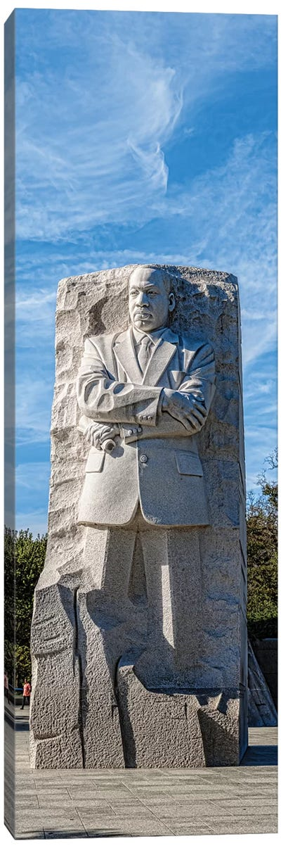 Martin Luther King Jr. Memorial At West Potomac Park, Washington D.C., USA Canvas Art Print