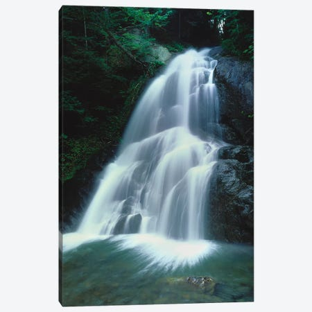 Moss Glen Falls, Vermont Route 100, Granville Reservation State Park, Vermont, USA I Canvas Print #PIM14749} by Panoramic Images Canvas Art