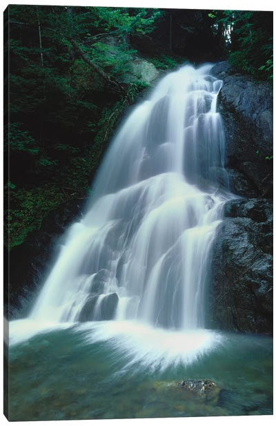 Moss Glen Falls, Vermont Route 100, Granville Reservation State Park, Vermont, USA I Canvas Art Print