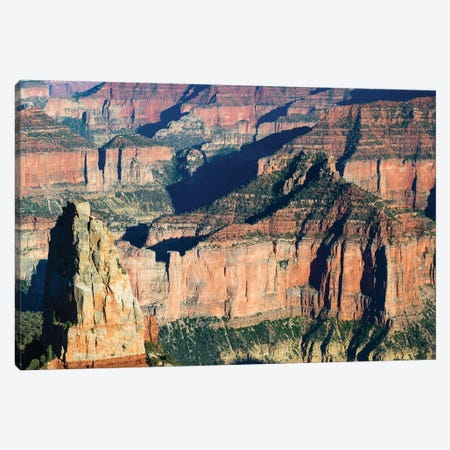 North And South Rims, Grand Canyon National Park, Arizona, USA I 3-Piece Canvas #PIM14753} by Panoramic Images Canvas Art Print
