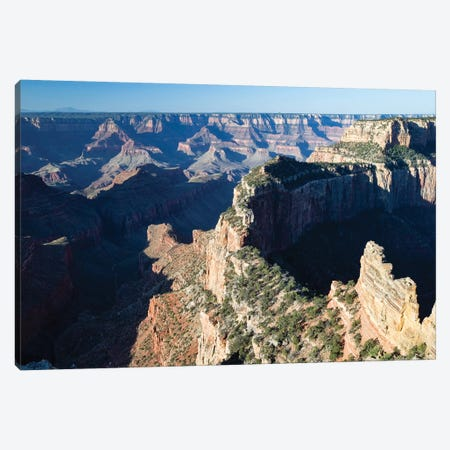 North And South Rims, Grand Canyon National Park, Arizona, USA II 3-Piece Canvas #PIM14754} by Panoramic Images Canvas Wall Art