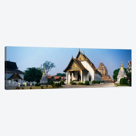 Wat Chedi Luang Chiang Mai Thailand Canvas Print #PIM1475} by Panoramic Images Canvas Art Print