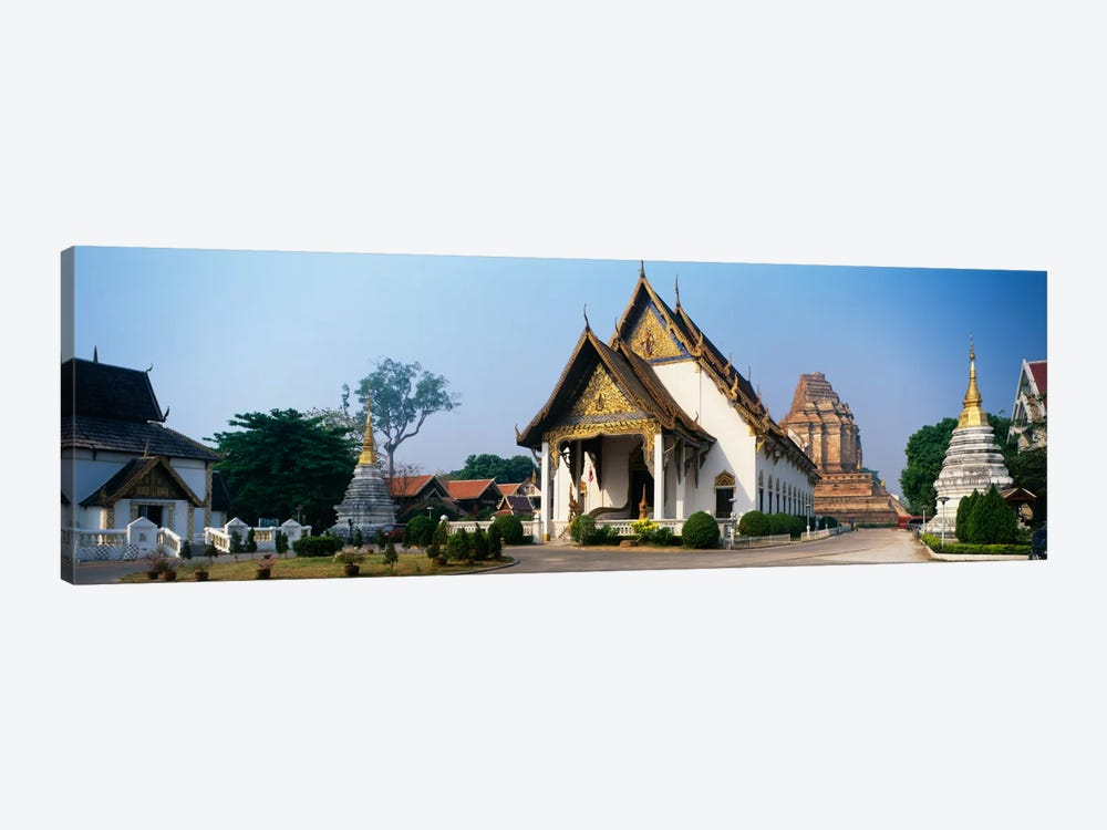 Wat Chedi Luang Chiang Mai Thailand by Panoramic Images 1-piece Art Print