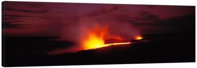 Kilauea Volcanoes National Park Hawaii HI USA Canvas Print #PIM1476