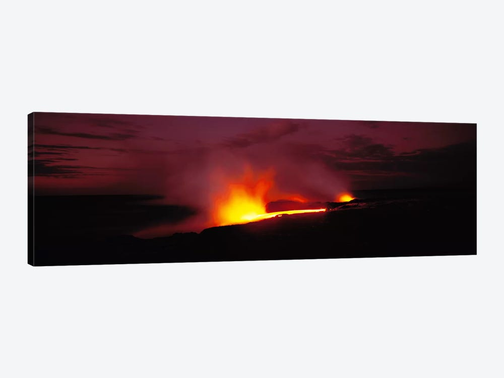 Kilauea Volcanoes National Park Hawaii HI USA by Panoramic Images 1-piece Canvas Art