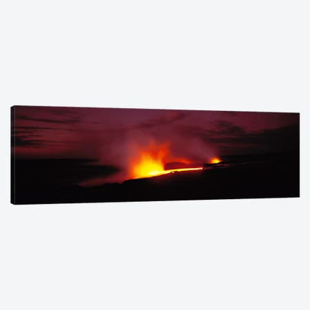 Kilauea Volcanoes National Park Hawaii HI USA Canvas Print #PIM1476} by Panoramic Images Art Print