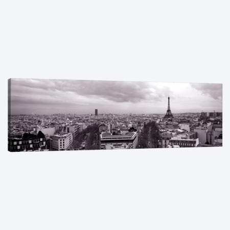 Eiffel Tower, Paris, France  Canvas Print #PIM1477} by Panoramic Images Canvas Print