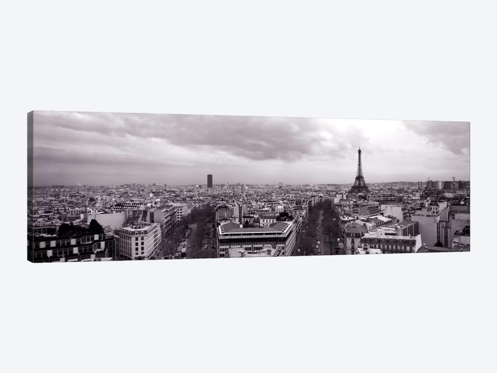 Eiffel Tower, Paris, France  by Panoramic Images 1-piece Canvas Art Print