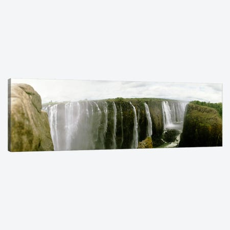 First Gorge, Victoria Falls (Mosi-oa-Tunya), Zambezi River, Africa Canvas Print #PIM1478} by Panoramic Images Canvas Art
