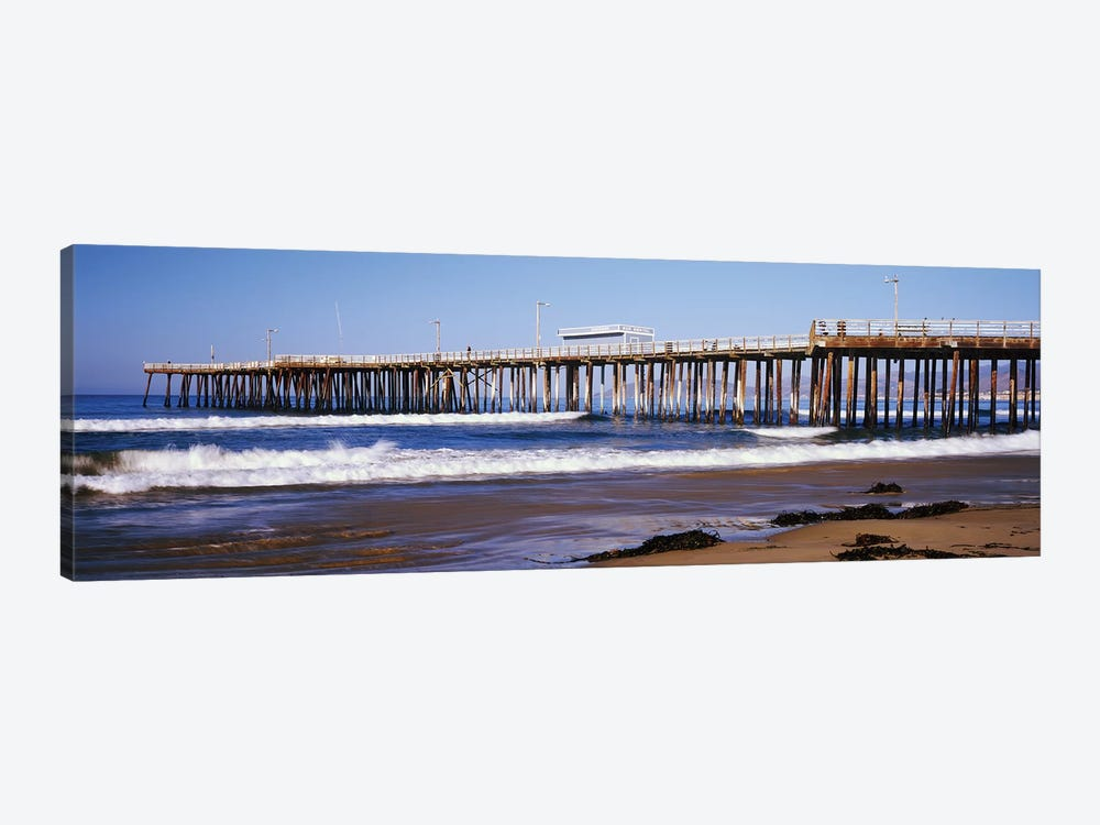 Pismo Pier, Pismo Beach, San Luis Obispo County, California, USA by Panoramic Images 1-piece Art Print
