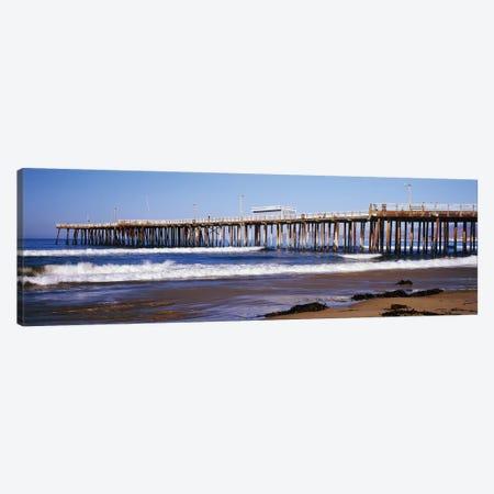 Pismo Pier, Pismo Beach, San Luis Obispo County, California, USA Canvas Print #PIM14795} by Panoramic Images Canvas Art