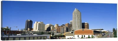 Dowtown Skyline, Raleigh, Wake County, North Carolina, USA Canvas Art Print