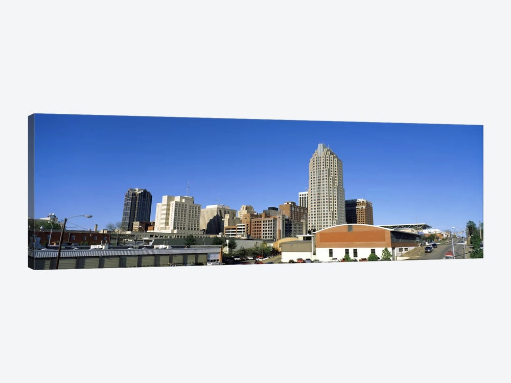 Dowtown Skyline, Raleigh, Wake County, North Carolina, USA by Panoramic Images 1-piece Canvas Art