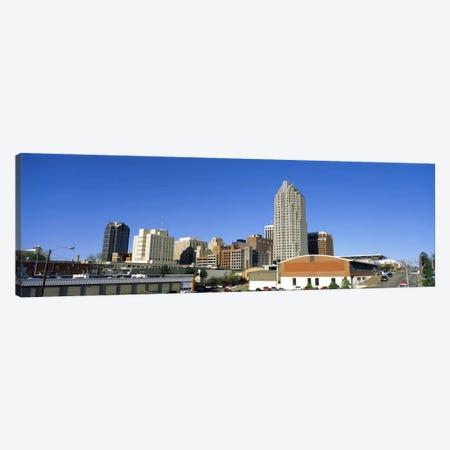 Dowtown Skyline, Raleigh, Wake County, North Carolina, USA 3-Piece Canvas #PIM1481} by Panoramic Images Art Print
