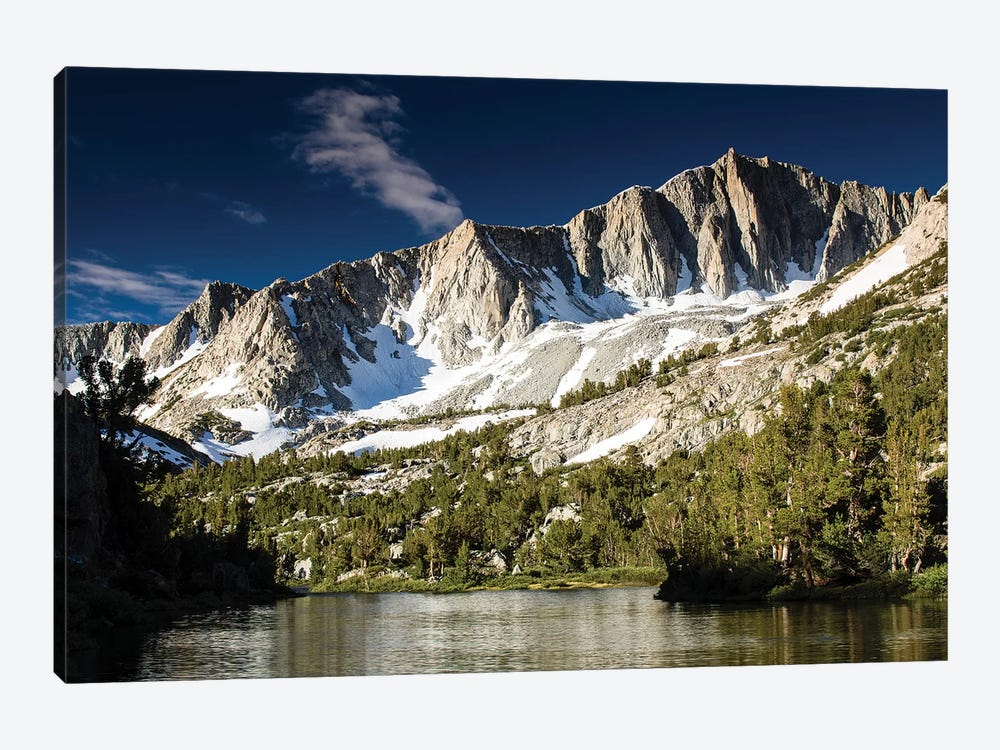 River With Mountain Range In The Background, Eastern Sierra, Sierra Nevada, California, USA I by Panoramic Images 1-piece Canvas Art