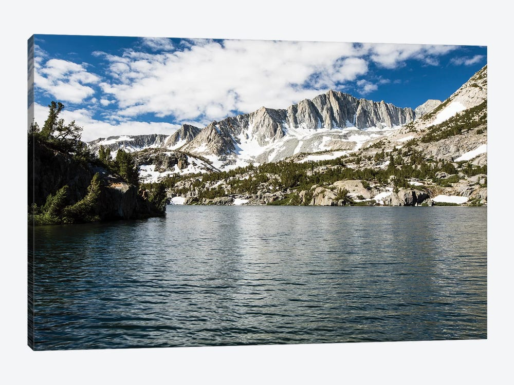 River With Mountain Range In The Background, Eastern Sierra, Sierra Nevada, California, USA III by Panoramic Images 1-piece Canvas Wall Art