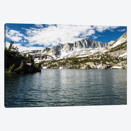 River With Mountain Range In The Background, Eastern Sierra, Sierra Nevada, California, USA III Canvas Print #PIM14834} by Panoramic Images Art Print