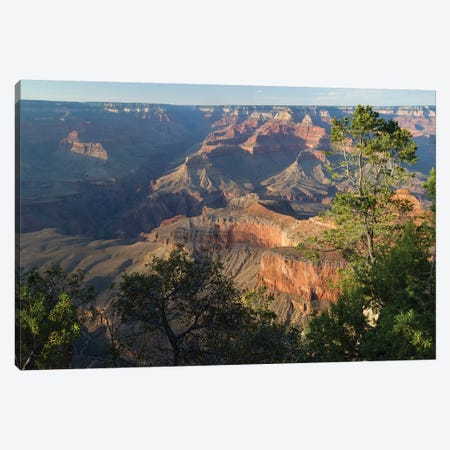 Rock Formations At Grand Canyon National Park, Arizona, USA I Canvas Print #PIM14849} by Panoramic Images Canvas Art Print