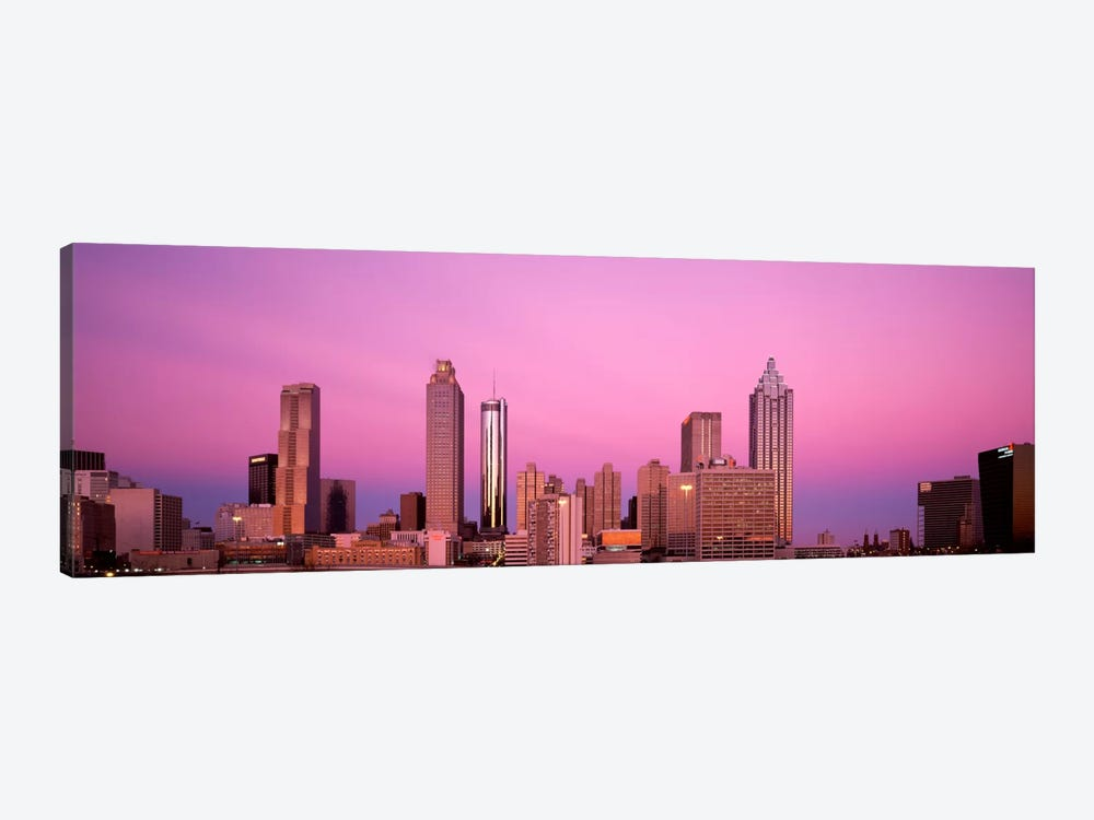 USAGeorgia, Atlanta, Panoramic view of the city at dawn by Panoramic Images 1-piece Canvas Print