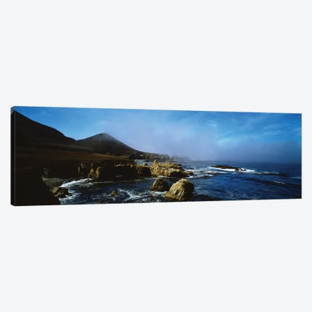 Rock Formations On The Coast, Big Sur, Garrapata State Beach, Monterey Coast, California, USA I Canvas Print #PIM14852} by Panoramic Images Canvas Wall Art