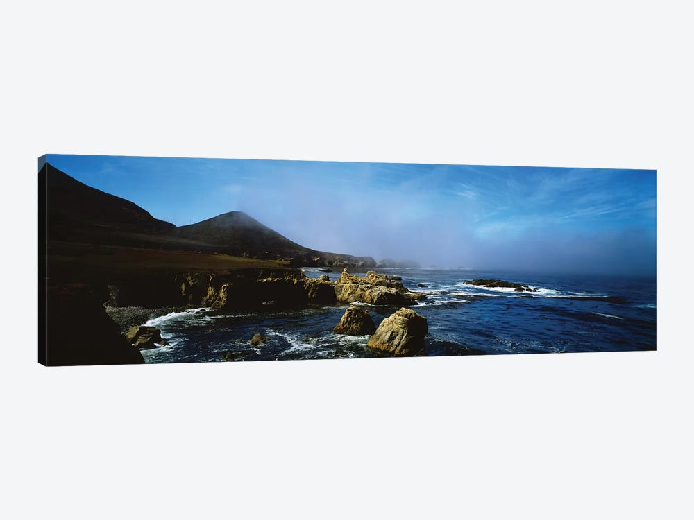 Rock Formations On The Coast, Big Sur, Garrapata State Beach, Monterey Coast, California, USA I by Panoramic Images 1-piece Canvas Wall Art