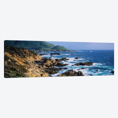 Rock Formations On The Coast, Big Sur, Garrapata State Beach, Monterey Coast, California, USA III Canvas Print #PIM14854} by Panoramic Images Canvas Art Print