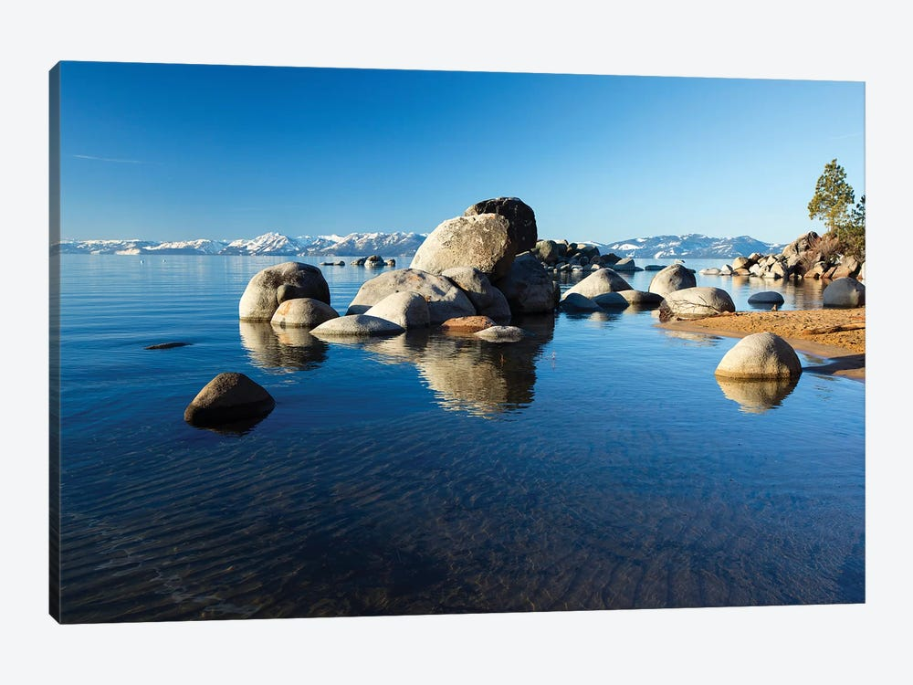 Rocks In A Lake, Lake Tahoe, California, USA III by Panoramic Images 1-piece Art Print