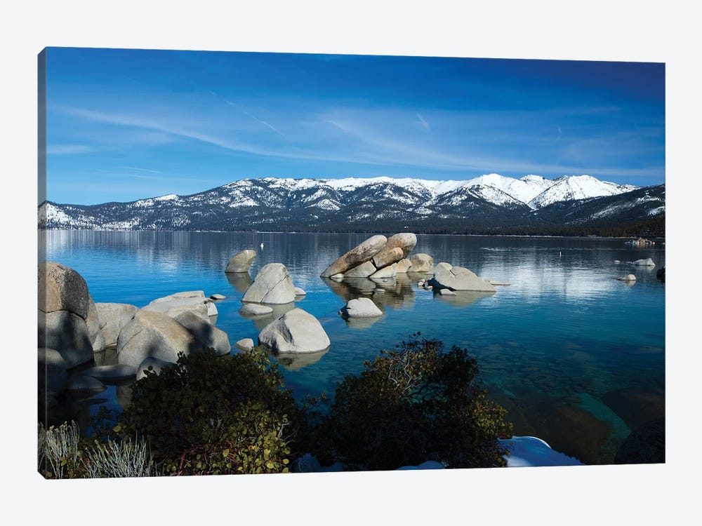 Rocks In A Lake, Lake Tahoe, California, USA IV by Panoramic Images 1-piece Canvas Art
