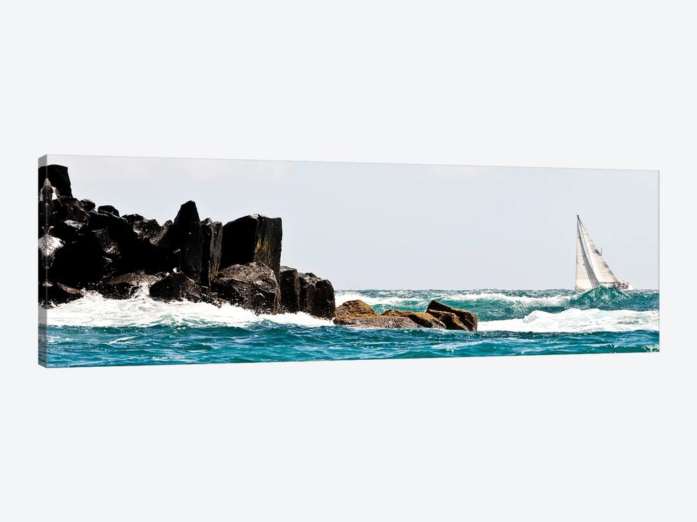 Sailboat Competing In The Grenada Sailing Festival, Grenada I by Panoramic Images 1-piece Canvas Art Print