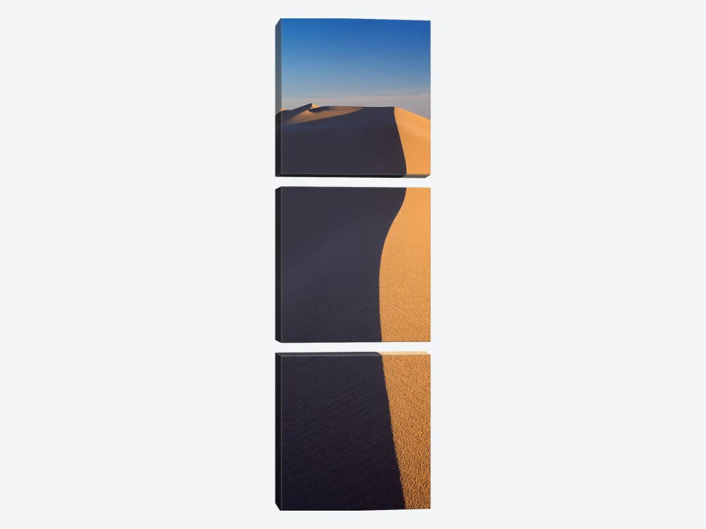 Sand Dunes In A Desert, Algodones Dunes, California, USA by Panoramic Images 3-piece Canvas Wall Art