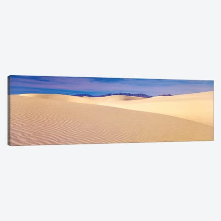Sand Dunes In A Desert, Eureka Dunes, Death Valley National Park, California, USA Canvas Print #PIM14879} by Panoramic Images Canvas Wall Art