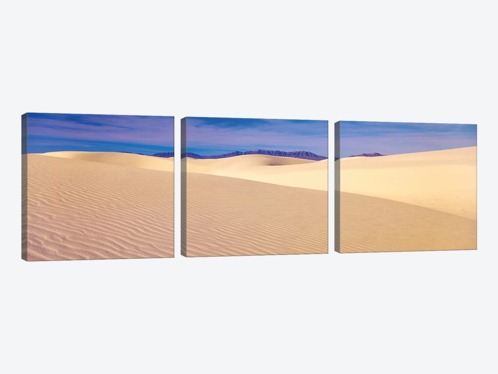 Sand Dunes In A Desert, Eureka Dunes, Death Valley National Park, California, USA by Panoramic Images 3-piece Art Print