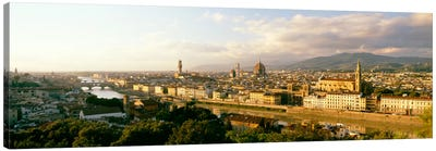 The Duomo & Arno River Florence Italy Canvas Art Print
