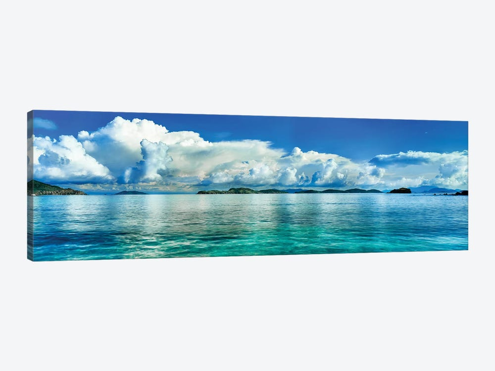 Sapphire Beach, St. Thomas, U.S. Virgin Islands by Panoramic Images 1-piece Canvas Art