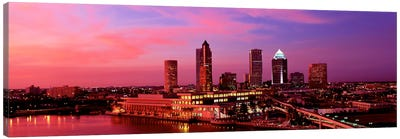USA, Florida, Tampa , night Canvas Print #PIM148