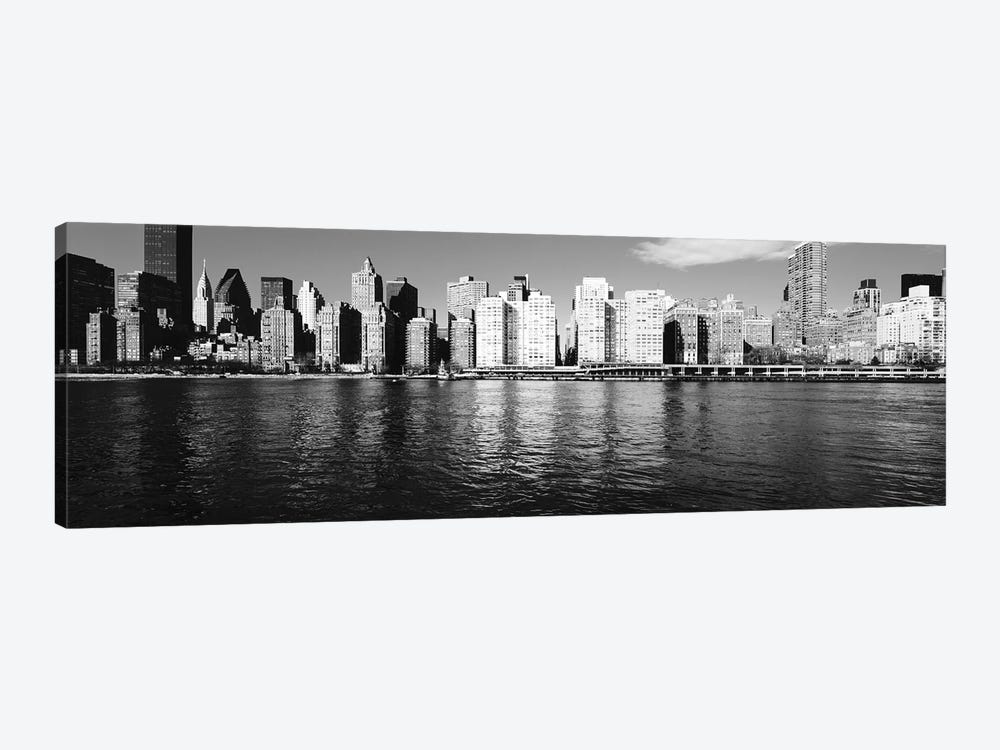 Skyscrapers At The Waterfront, East River, Manhattan, New York City, USA I by Panoramic Images 1-piece Canvas Artwork