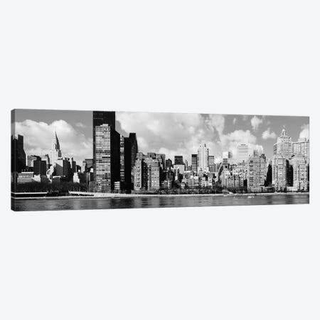 Skyscrapers At The Waterfront, East River, Manhattan, New York City, USA II Canvas Print #PIM14923} by Panoramic Images Canvas Artwork