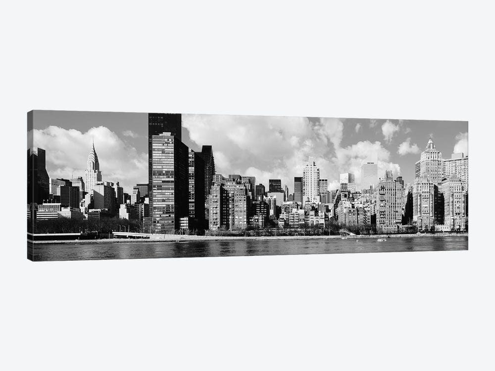 Skyscrapers At The Waterfront, East River, Manhattan, New York City, USA II by Panoramic Images 1-piece Art Print